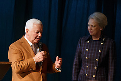 HRH Princess Benedikte, Kasselman Ulrich<br /> Global Dressage Forum<br /> Academy Bartels - Hooge Mierden 2015<br /> © Hippo Foto - Dirk Caremans<br /> 26/10/15