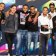 NLD/Den Haag/20160927 - Bekendmaking Dutch Act nominaties MTV EMA's, Broederliefde, Ronnie Flex en Julius Jordan