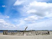 Strand bij Kats, Zeeland - A  beach near Kats, Zeeland, Netherlands