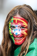 Fans before the match between Portugal and Poland, valid for the quarterfinals of Euro 2016 at the Velodrome stadium in Marseille, on Thursday (30).