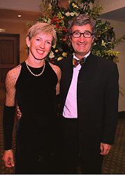 MR & MRS EDDIE JORDAN he is the owner of the Formula One racing team Jordan, at a dinner in London on 19th February 1998.MFO 20