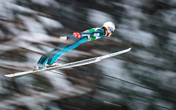 16.12.2017, Gross Titlis Schanze, Engelberg, SUI, FIS Weltcup Ski Sprung, Engelberg, im Bild Daniel Andre Tande (NOR) // Daniel Andre Tande of Norway during Mens FIS Skijumping World Cup at the Gross Titlis Schanze in Engelberg, Switzerland on 2017/12/16. EXPA Pictures © 2017, PhotoCredit: EXPA/JFK