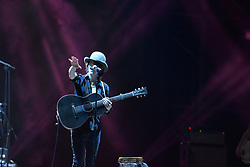 August 1, 2017 - Naples, Italy - The American singer and songwriter Laura Pergolizzi (LP) performing live on stage at the Arena Flegrea in Napoli. (Credit Image: © Paola Visone/Pacific Press via ZUMA Wire)