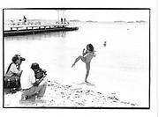 Mimi Lesseos (actress, movie financier and Champion wrestler)Cannes Film Festival 1995© Copyright Photograph by Dafydd Jones 66 Stockwell Park Rd. London SW9 0DA Tel 020 7733 0108 www.dafjones.com