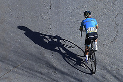 March 16, 2019 - Col De Turini, France - LOPEZ MORENO Miguel Angel (COL) of ASTANA PRO TEAM in action during stage 7 of the 2019 Paris - Nice cycling race with start in Nice and finish in Col de Turini  on March 16, 2019 in Col De Turini, France, (Credit Image: © Panoramic via ZUMA Press)