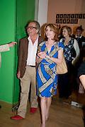 GERALD SCARFE; JANE ASHER, Opening of Rude Britannia. Tate Britain. Millbank. London. 7 June 2010. -DO NOT ARCHIVE-© Copyright Photograph by Dafydd Jones. 248 Clapham Rd. London SW9 0PZ. Tel 0207 820 0771. www.dafjones.com.