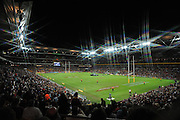 May 25th 2011: (*note: special purpose camera filter was used for this image) Atmosphere view of Suncorp Stadium before game 1 of the 2011 State of Origin series at Suncorp Stadium in Brisbane, Australia on May 25, 2011. Photo by Matt Roberts/mattrIMAGES.com.au / QRL