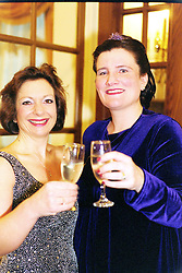 GP Booster Ball <br />Left to Right; Sandra Brinkley & Eithne Cummins who had the original Idea for the GP Booster Ball<br />Venue: Royal Victoria Hotel, (holiday inn), Sheffield<br />Date: Saturday 10 November