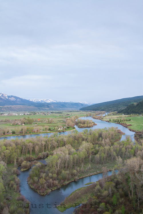 South Fork of the Snake River in Idaho.