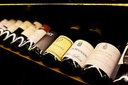 Wine selection in Bar dos descansados, Santa Teresa, Rio de Janeiro.