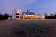 Modern Home, Daniels Lane, designed by Charles Gwathmey, Sagaponack, NY