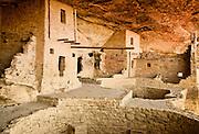 Cliff Dwellings, Mesa Verde National Park, CO, USA.