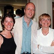 Nationale Voorleesdag, Monique van der Ven, Haye van der Heijden en vrouw Veronique van der Scheer