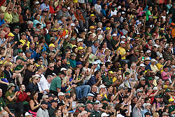 Olympic Trials Eugene 2012: cheering crowd
