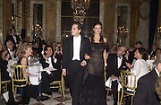 Natasha Rufus Isaacs and her escort, Richard Dennen.<br />