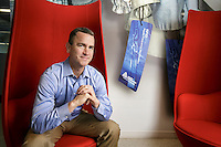 Mitchell Butier, CEO of Avery Dennison, in his offices in Glendale, CA.  May 20, 2016.  Photo by David Sprague