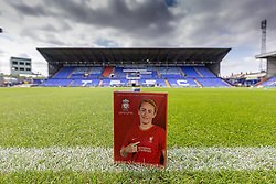BIRKENHEAD, ENGLAND - Sunday, August 29, 2021: The official matchday programme before the FA Women's Championship game between Liverpool FC Women and London City Lionesses FC at Prenton Park. (Pic by Paul Currie/Propaganda)