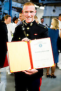 The University of Wisconsin Navy ROTC commissioning is held in Madison, Wisconsin on May 20, 2012. At the end of each spring and winter semester, graduating Midshipmen, Officer Candidates, and MECEPs receive their commissions as Officers in the Navy and Marine Corps. Commissioning is the culmination of three to five years of hard work, and marks the new officer's official transition from student to leader.