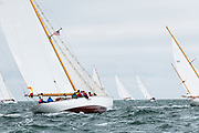 The Blue Peter sailing in the Opera House Cup.