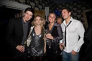 ALEX BRODKIN AND ALLEGRA FELTZ, FIA TARRANT AND CHARLIE GREGORY, Bingo Lotto launch party. Soho Hotel Richmond Mews. London. 29 February 2008.  *** Local Caption *** -DO NOT ARCHIVE-© Copyright Photograph by Dafydd Jones. 248 Clapham Rd. London SW9 0PZ. Tel 0207 820 0771. www.dafjones.com.