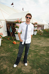 JENSON BUTTON at the Cartier International Polo at Guards Polo Club, Windsor Great Park on 27th July 2008.<br /> <br /> NON EXCLUSIVE - WORLD RIGHTS