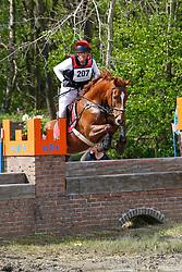 Smeets Dirk, BEL, Icarus De Casmir<br /> Nationale LRV-Eventingkampioenschap Minderhout 2017<br /> © Hippo Foto - Kris Van Steen<br /> 30/04/17