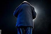 20191019/ Javier Calvelo - adhocFOTOS/ URUGUAY/ MONTEVIDEO/ El Movimiento de Participacion Popular realizo su acto de cierre de campaña electoral en el que participó el lider del sector José Mujica en la Plaza 1 de Mayo de Montevideo.<br /> En la foto: José Mujica en el acto de cierre de campaña del MPP,  Espacio 609,  en Plaza 1 de Mayo de Montevideo. Foto: Javier Calvelo / adhocFOTOS