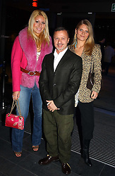 Left to right, BEVERLEY BLOOM, JACQUES AZAGURY and ARABELLA TOBIAS at the launch party for 'The London Look - Fashion From Street to Catwalk' held at the Museum of London, London Wall, Londom EC2 on 28th October 2004<br /><br />NON EXCLUSIVE - WORLD RIGHTS