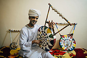 Am Ahmed, the maker of Tambour musical instrument