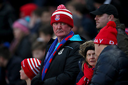 Stoke City's fans during the Stoke City v Ipswich Town match