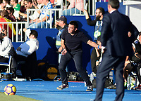 CD Leganes'  coach Asier Garitano and UD FC Barcelona's  during La Liga match. November 1,2017. (ALTERPHOTOS/Inma Garcia)