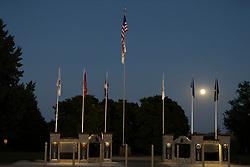 Veterans memorial in Wapella Illinois