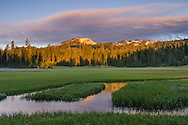 Kings Creek at Upper Meadow, Lassen Volcanic National Park, California