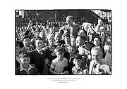 Christy Ring is shouldered off the pitch after Cork win the All Ireland Hurling Final at Croke Park, Dublin.<br /> <br /> 7th September 1953<br /> 07/09/1953