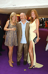 Left to right, ALEXIA INGE, VINCE POWER and  model OLIVIA INGE at theThe Summer Ball in Berkeley Square , Londin W1 in aid of the Prince's Trust on 6th July 2006.<br /><br />NON EXCLUSIVE - WORLD RIGHTS