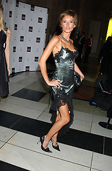 Model JASMINE LENNARD at the 2005 British Fashion Awards held at The V&A museum, London on 10th November 2005.<br /><br />NON EXCLUSIVE - WORLD RIGHTS