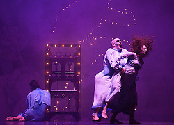 In The Spirit of Diaghilev<br /> world premier<br /> at Sadler's Wells, London, Great Britain<br /> rehearsal<br /> 13th October 2009 <br />  <br /> <br /> Javier De Frutos : Eternal Damnations of Sancho and Sanchez<br /> <br /> Choreography by Javier De Frutos<br /> <br /> Photograph by Elliott Franks