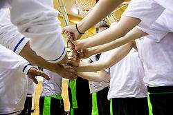 Players during practice session of Slovenian Women Basketball Team, on May 14, 2014 in Arena Vitranc, Kranjska Gora, Slovenia. Photo by Vid Ponikvar / Sportida