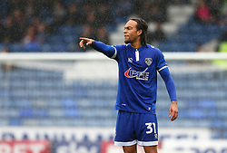 Charles Dunne of Oldham Athletic points - Mandatory by-line: Matt McNulty/JMP - 03/09/2016 - FOOTBALL - Sportsdirect.com Park - Oldham, England - Oldham Athletic v Shrewsbury Town - Sky Bet League One