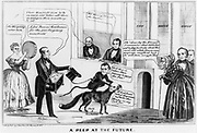 A Peep at the Future 1844.  A Whig fantasy on the supposed outcome of the 1844 election. James S. Baillie