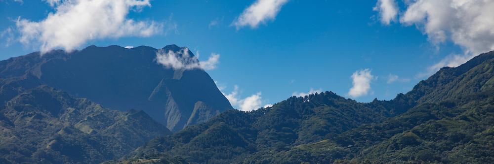 Mountains, Tahiti, French Polynesia
