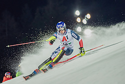 """29.01.2019, Planai, Schladming, AUT, FIS Weltcup Ski Alpin, Slalom, Herren, 1. Lauf, im Bild Dave Ryding (GBR) // Dave Ryding of United Kingdom in action during his 1st run of men's Slalom """"the Nightrace"""" of FIS ski alpine world cup at the Planai in Schladming, Austria on 2019/01/29. EXPA Pictures © 2019, PhotoCredit: EXPA/ Dominik Angerer"""