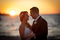 Bride and Groom Sunset Photography