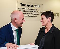 Organ Donation Week, Edinburgh, 3 September 2018