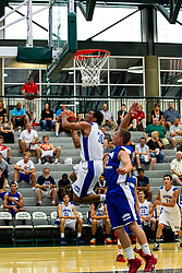 28 June 2014: Martel Hunter 2014 Boys Illinois Basketball Coaches Association All Start game at the Shirk Center in Bloomington IL