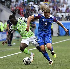 Nigeria v Iceland - 22 June 2018