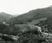 1899 Looking south through Cahuenga Pass