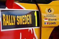 MOTORSPORT - WRC 2010 - RALLY SWEDEN - KARLSTAD (SWE) - 11 to 14/02/2010 - PHOTO : ALEXANDRE GUILLAUMOT / DPPI<br /> SEBASTIEN LOEB (FRA) - CITROEN TOTAL RALLY TEAM - CITROEN C4 WRC - AMBIANCE PORTRAIT