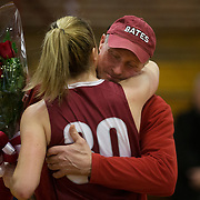 Bates women's basketball loses to Connecticut College at Bates on January 27, 2018.