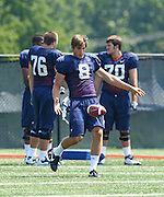 Virginia punter Jimmy Howell during open spring practice for the Virginia Cavaliers football team August 7, 2009 at the University of Virginia in Charlottesville, VA. Photo/Andrew Shurtleff